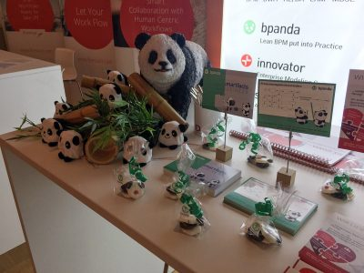 Bpanda ünterstützt durch viele Pandas_CPOs
