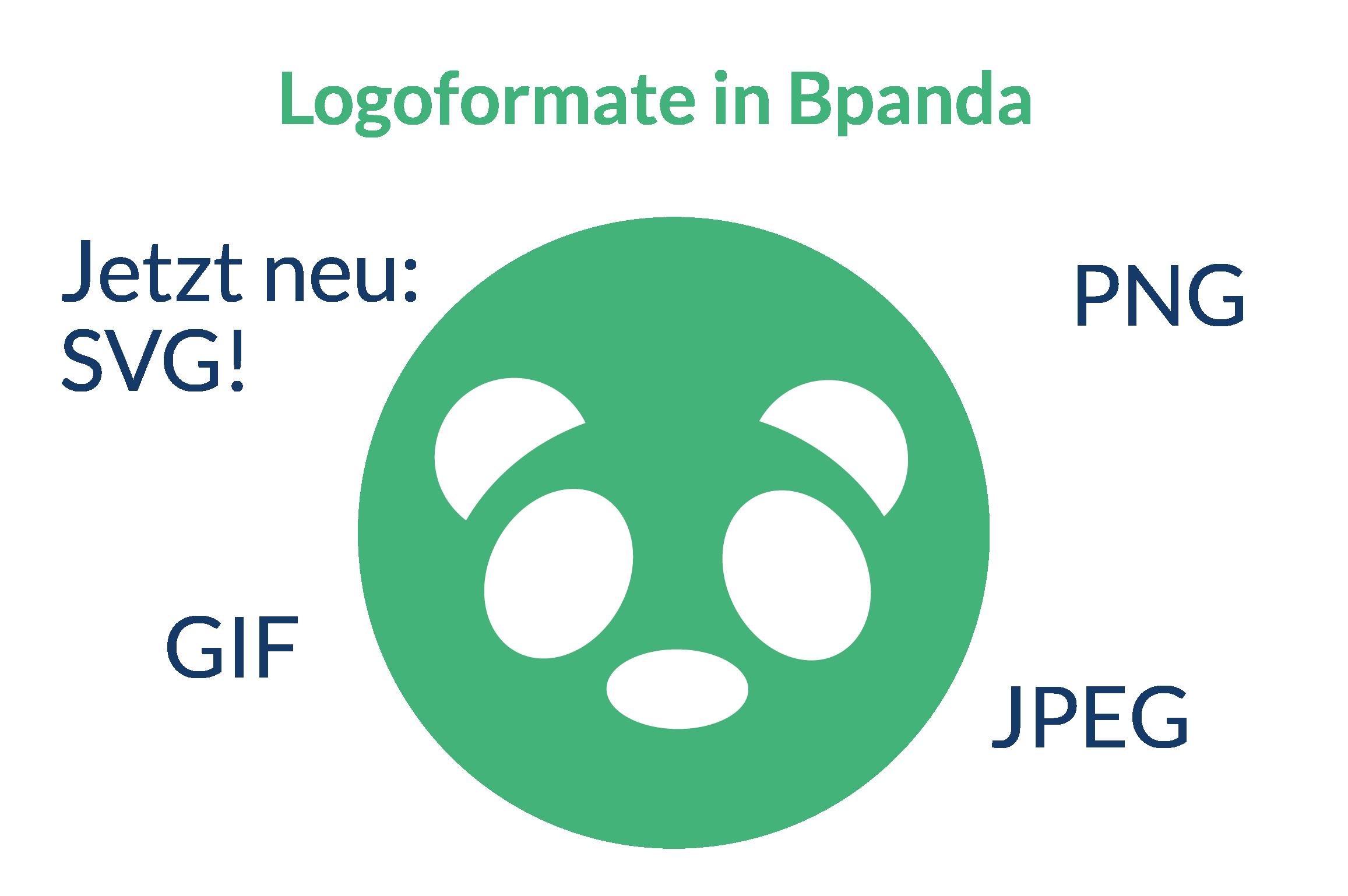 Neue UX-Verbesserung in Bpanda: Lade Logos nun auch als SVG in deinen Prozessraum.